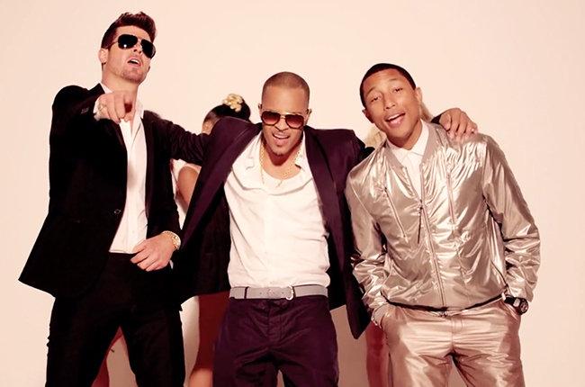 Robin Thicke, T.I., Pharrell Williams copyright lawsuit