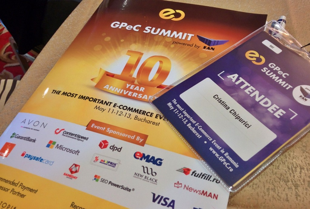 GPeC Summit 2015 (badge Pyuric)