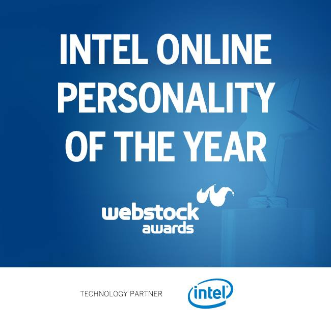 Intel Online Personality of the Year - Webstock 2015