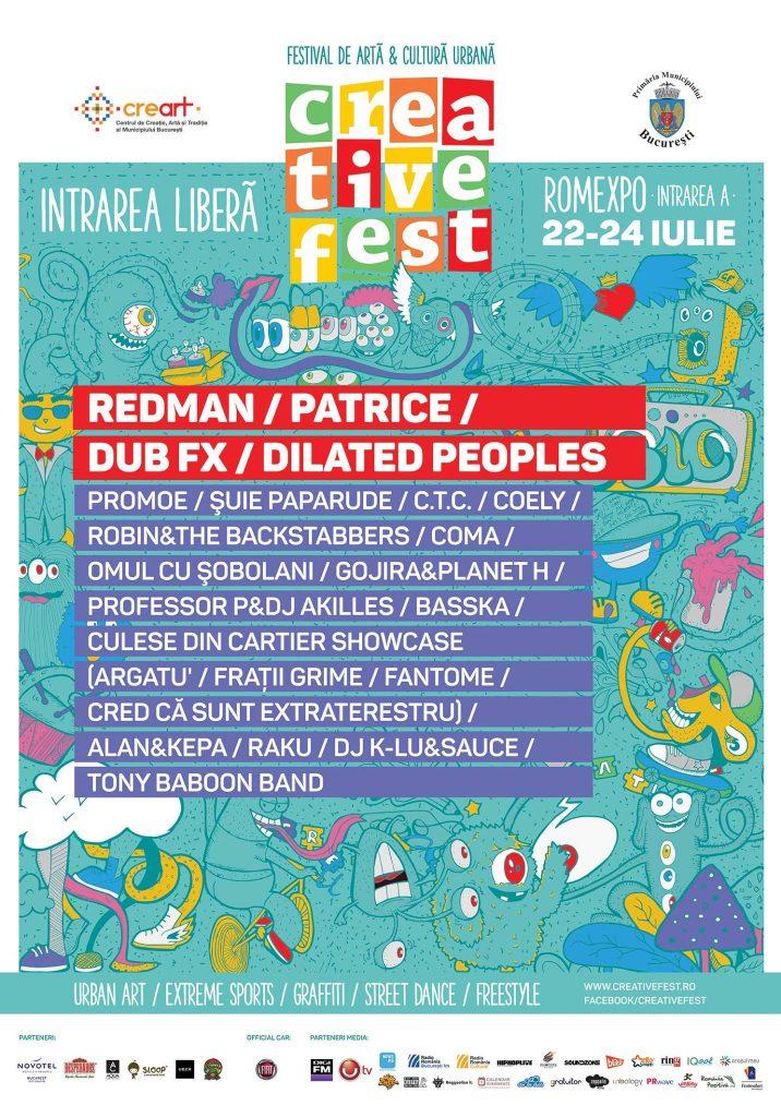 Creative Fest (22-24 iulie 2016)