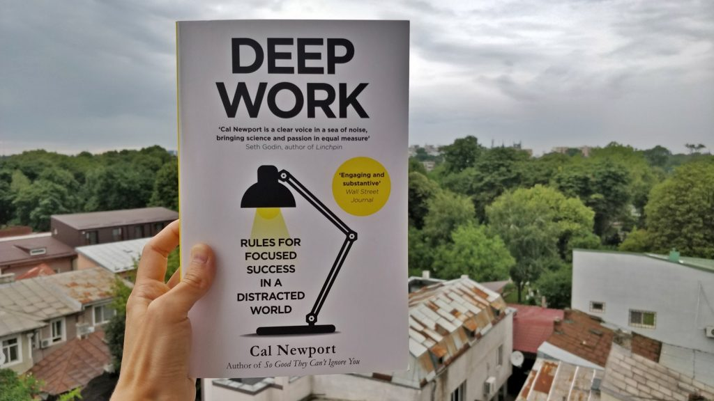 Cal Newport - Deep Work - Rules for Focused Success in a Distracted World